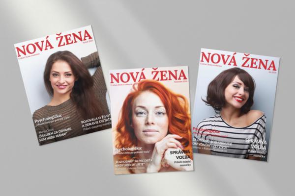 Spoznajte časopis Nová žena