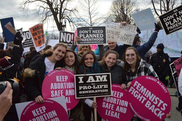 Môj rozhovor sobhajkyňou potratov počas Pochodu za život